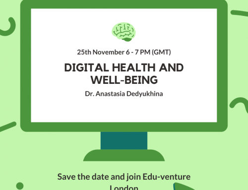 Edu-venture London Event: Digital Health and Wellbeing